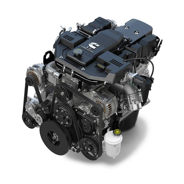 2018 RAM 2500 Engines