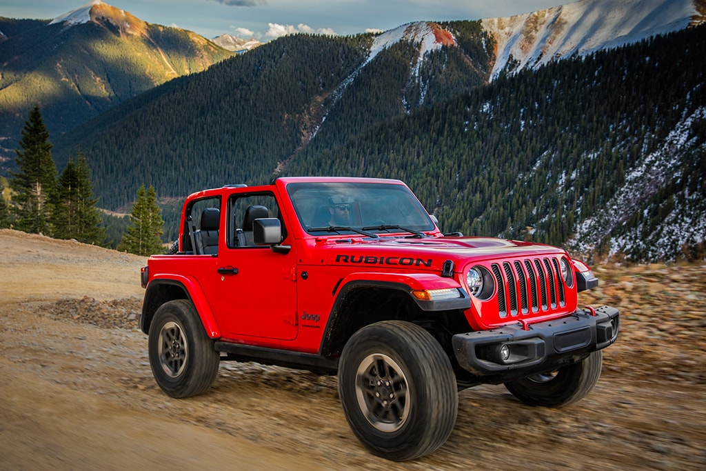 Jeep Cherokee Trailhawk vs Jeep Wrangler Rubicon
