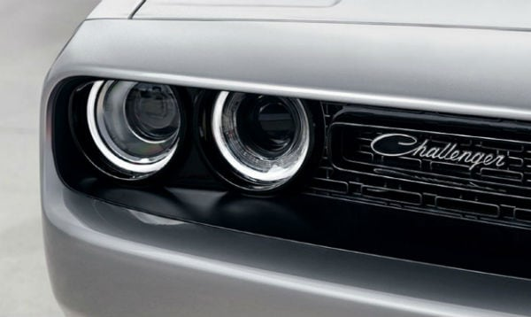 The 2019 Dodge Challenger  head light and grille White Oak, OH Northgate CDJR