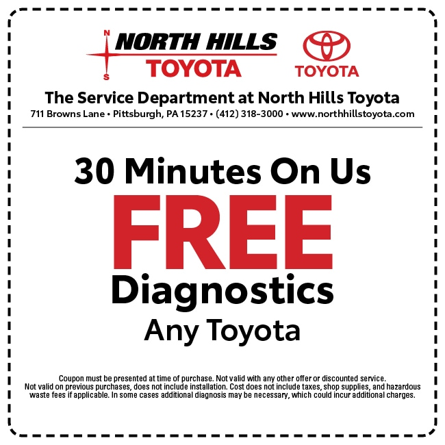 north hills automotive coupons