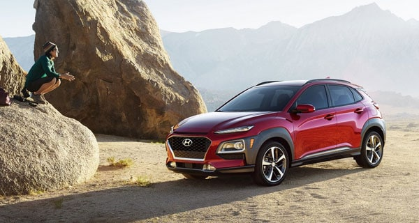 Red Hyundai Kona For Sale in North Palm Beach Florida