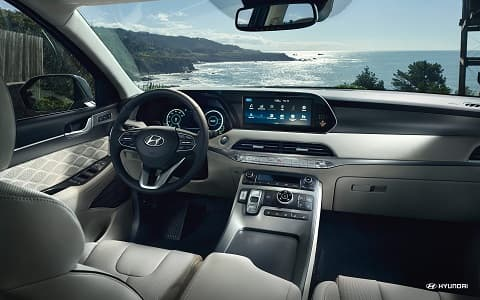 Hyundai Palisade Interior Design & Technology