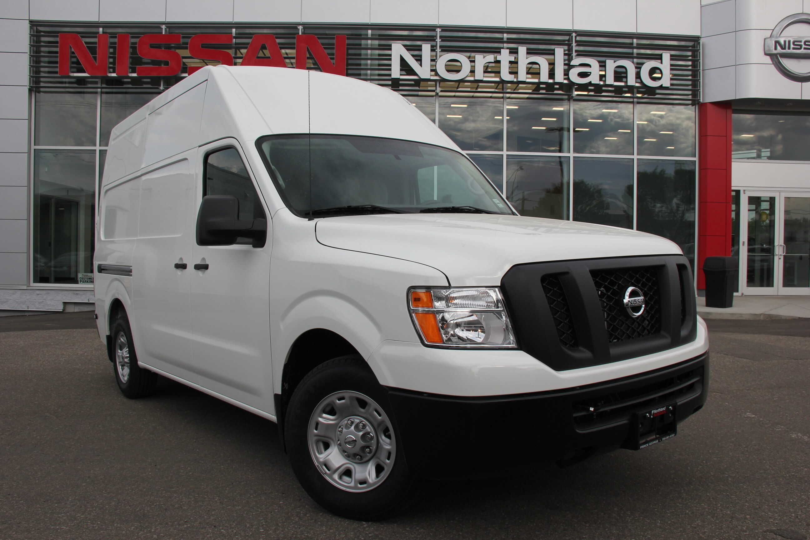 2017 Nissan Nv Cargo S comes with Winter Tires Full-size Cargo Van
