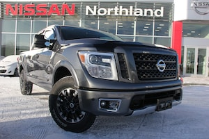 2018 Nissan Titan PRO-4X comes with Winter Tires