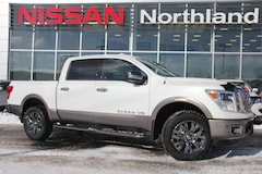 2018 Nissan Titan Platinum comes with winter tires Crew Cab Pickup