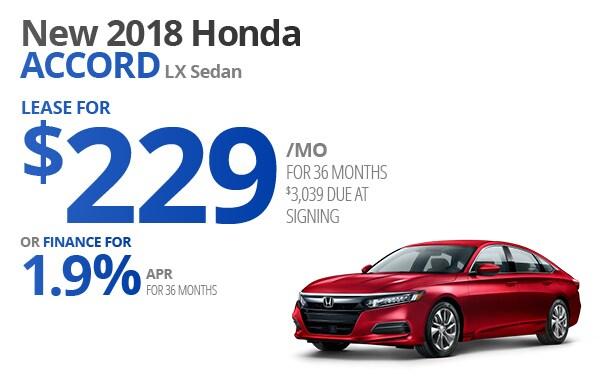 Honda Accord Lease For $229/mo Majestic Honda Lease