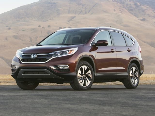 New 2016 Honda CR V