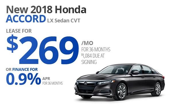 View New 2018 Honda Accord Inventory