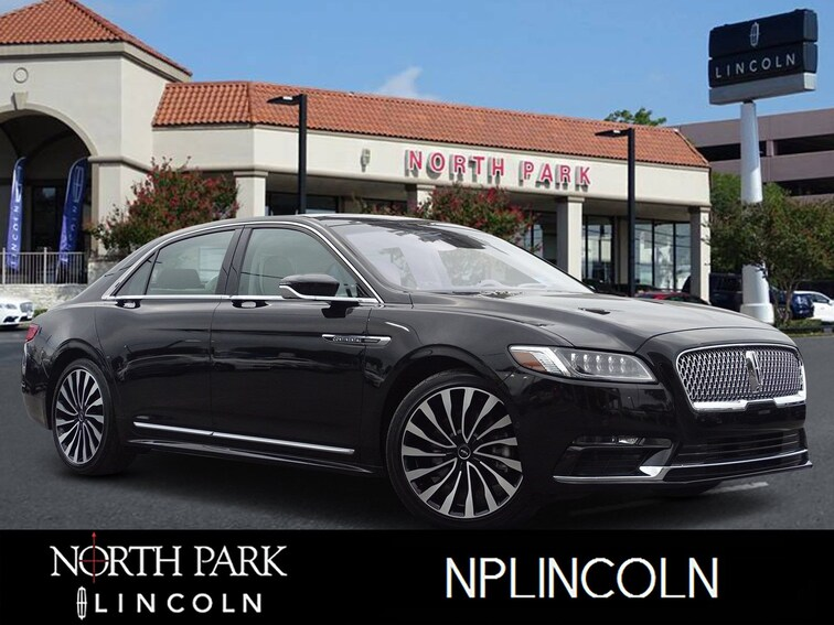 Certified Pre-Owned 2018 Lincoln Continental Black Label Black Label AWD for sale in San Antonio, TX
