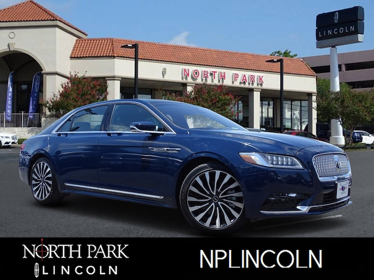 Certified Pre-Owned 2017 Lincoln Continental Black Label Black Label AWD for sale in San Antonio, TX