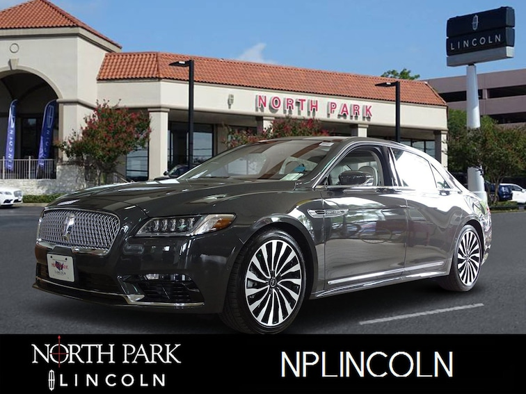Certified Pre-Owned 2019 Lincoln Continental Black Label Black Label AWD for sale in San Antonio, TX