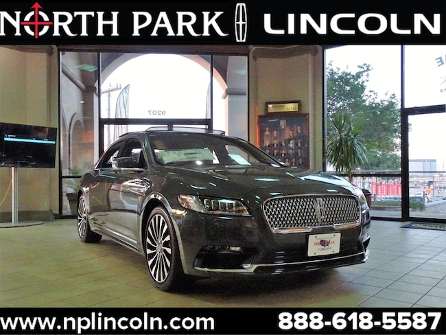 North Park Lincoln >> New 2019 Lincoln Continental Black Label For Sale At North Park