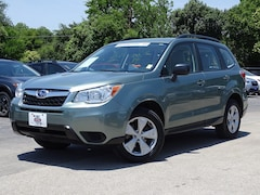 Certified Pre-Owned 2016 Subaru Forester 2.5i SUV JF2SJABC6GH544227 for sale in San Antonio, TX