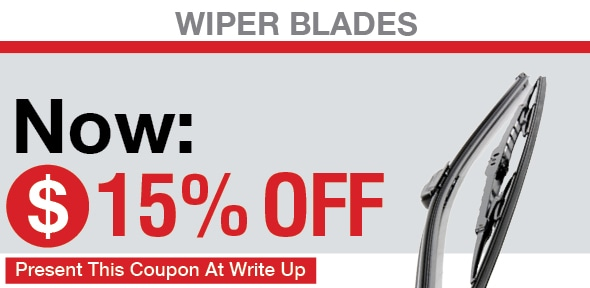 Wiper Blades Coupon, San Antonio, TX Automotive Service Special Special