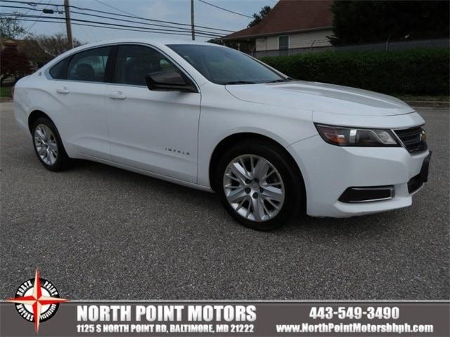 2016 Chevrolet Impala LS w/1FL Sedan