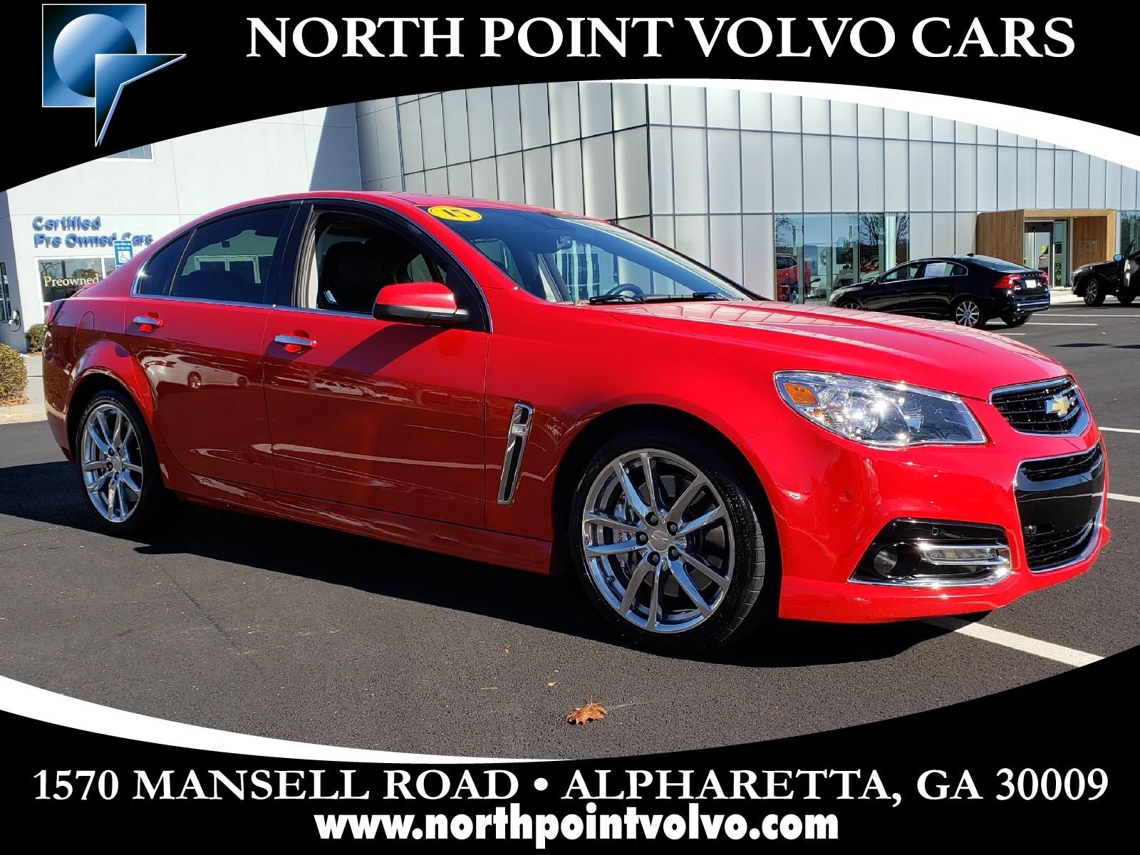 Used 2015 Chevrolet Ss For Sale Near Atlanta In Alpharetta Ga
