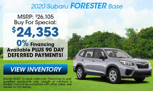 2020 Subaru Buy For Offer