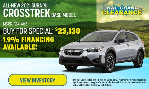 2021 Subaru Crosstrek Buy For Offer