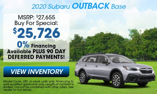 2020 Subaru Outback Buy For Offer