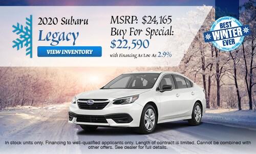 2020 Subaru Legacy Buy For