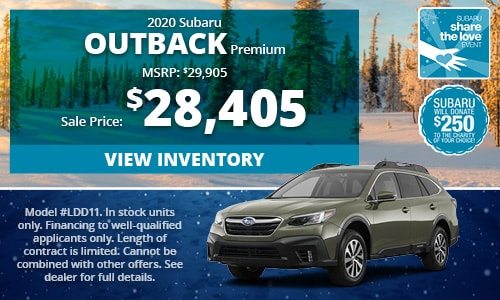 2020 Subaru Outback Buy For