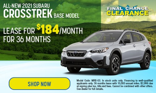 2021 Subaru Crosstrek Lease Offer