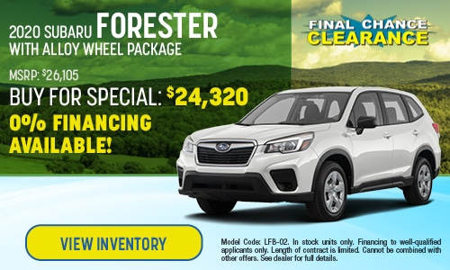 2020 Subaru Forester Buy For Offer