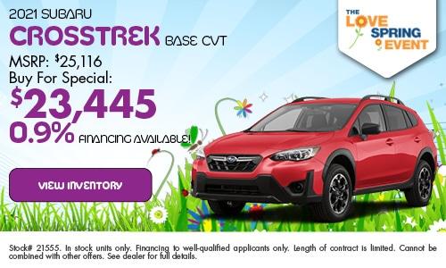 2021 Subaru Crosstrek Base CVT