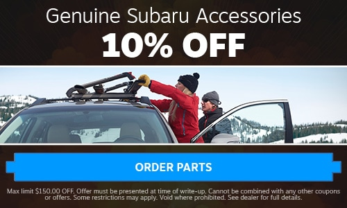 Genuine Subaru Accessories