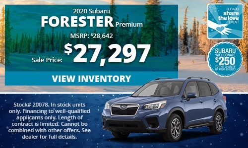 2020 Subaru Forester Buy For