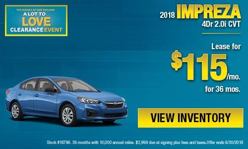 Subaru Lease Specials In Boston Ma Subaru Lease Pricing Deals