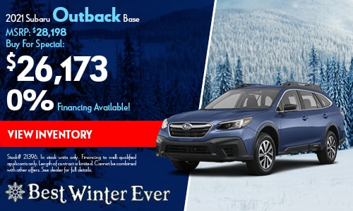 2021 Subaru Outback Buy For