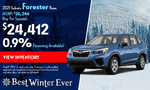 2021 Subaru Forester Buy For