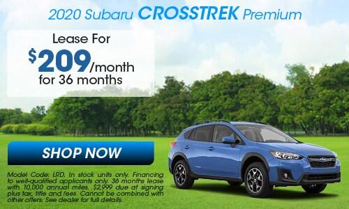 2020 Subaru Crosstrek Lease Offer