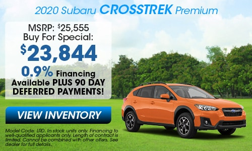 2020 Subaru Crosstrek Buy For Offer