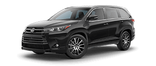 2017 Highlander MIDNIGHT BLACK METALLIC | Northridge Toyota serving Tarzana