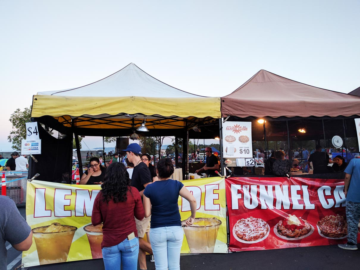Funnel Cakes & Lemonade July 2017 at Porter Ranch from Northridge Toyota | Serving all of San Fernando Valley & Greater Los Angeles