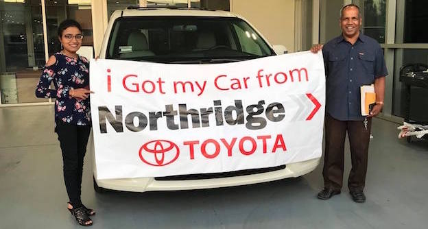 Happy Customers at Northridge Toyota