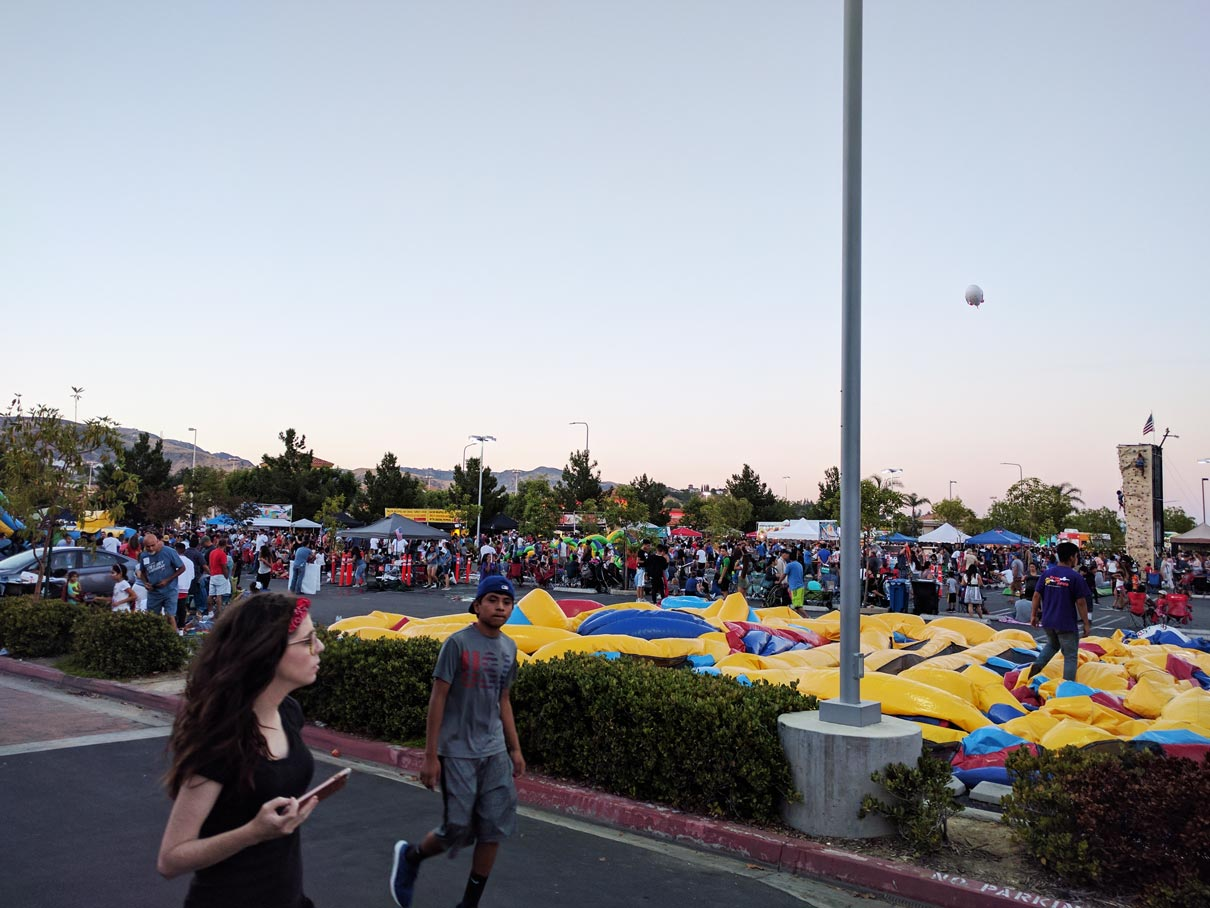 Large Crowd July 2017 at Porter Ranch from Northridge Toyota | Serving all of San Fernando Valley & Greater Los Angeles
