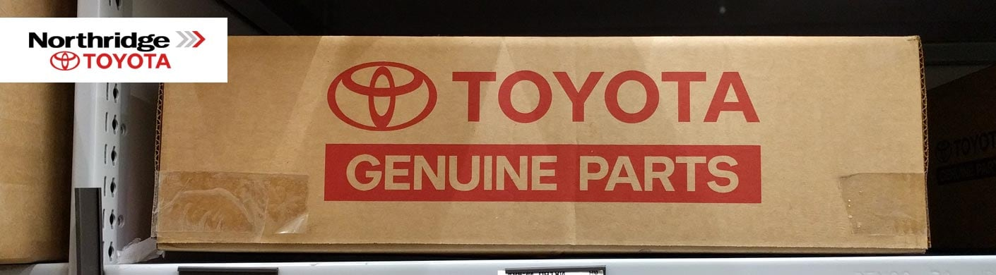 Genuine OEM Toyota Parts | Northridge Toyota Wholesale Parts serving Mission Hills