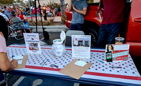 4th of July 2017 Northridge Toyota | Toyota Booth & Raffle | Serving Porter Ranch