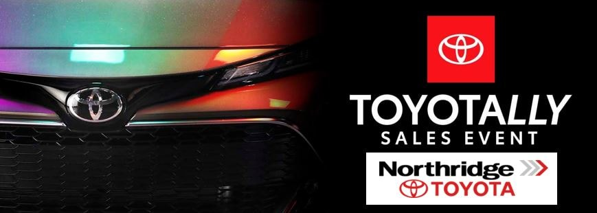 Toyotally Sales Event Feb 2019 is going on now at Northridge Toyota. View New Toyota leases and special offers