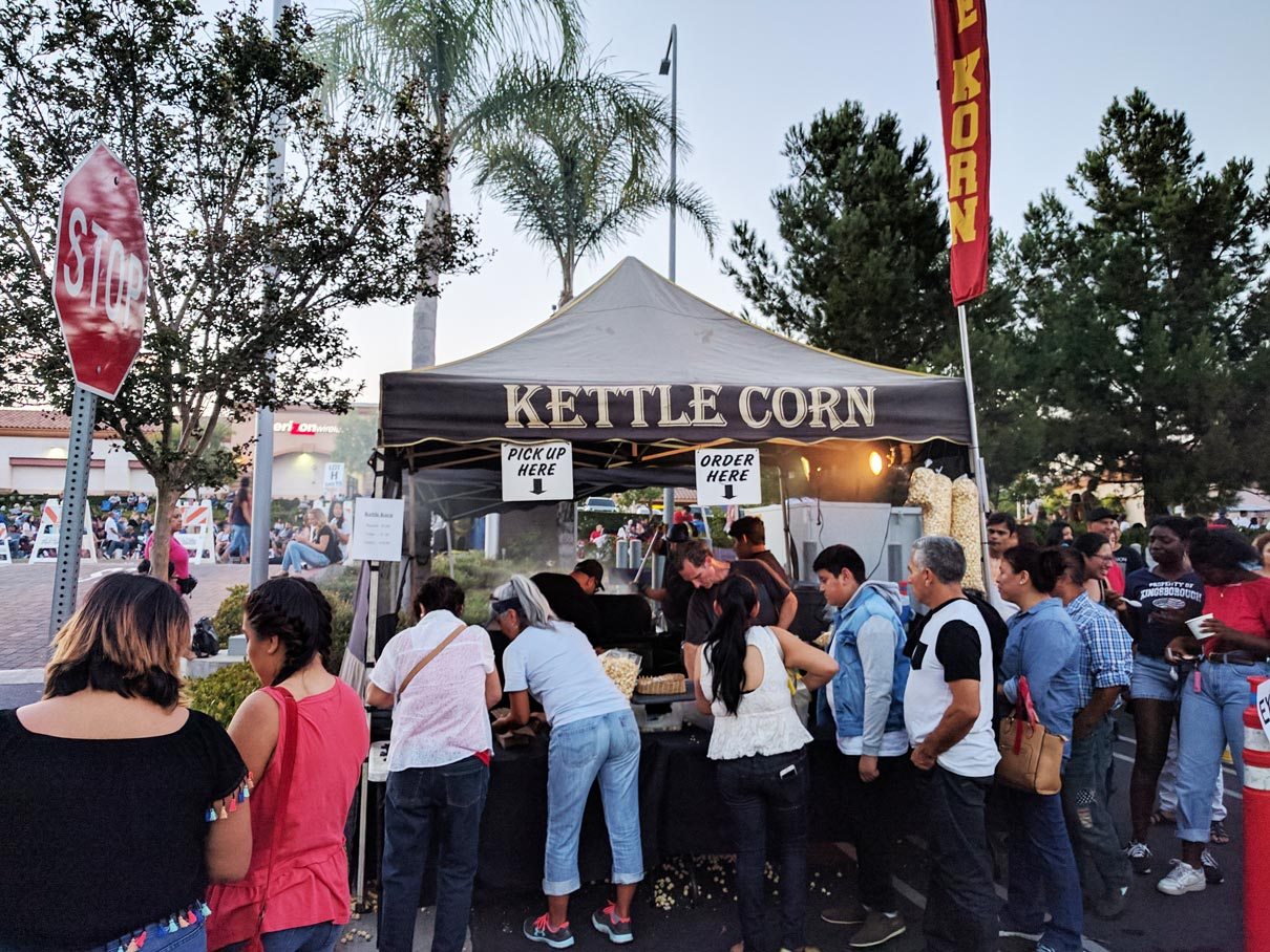 Kettle Corn July 2017 at Porter Ranch from Northridge Toyota | Serving all of San Fernando Valley & Greater Los Angeles