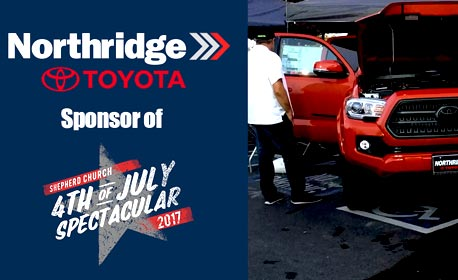 Northridge Toyota Youtube channel - 4th of July