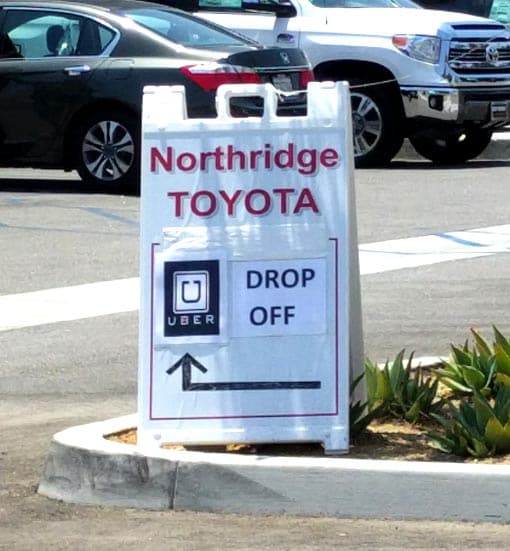 Northridge Toyota | Teamed up with Uber | Serving all the San Fernando Valley & greater Los Angeles Area