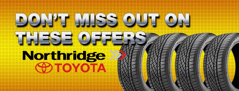 Northridge Toyota Tire Promotions!