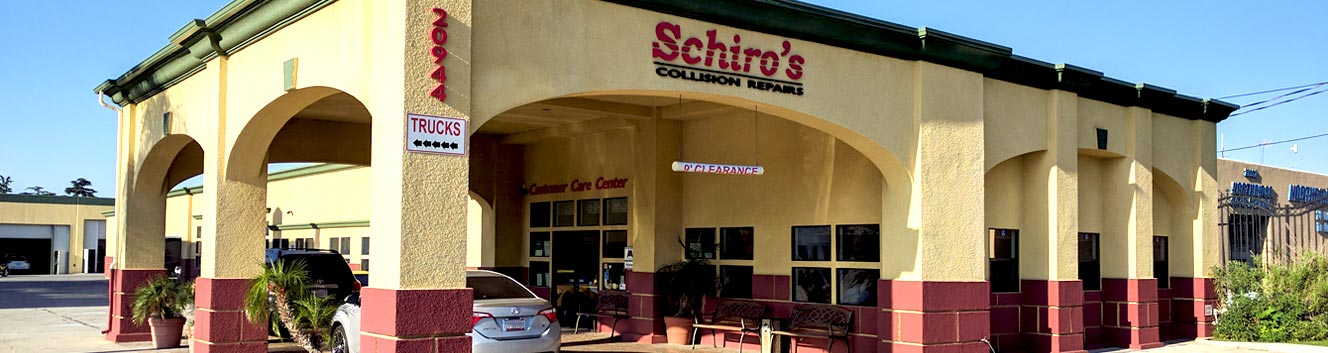 Schiro's Collision Repairs Center | Northridge Toyota approve auto body repair shop