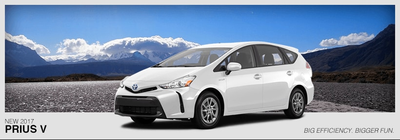 The New 2017 Toyota Prius V