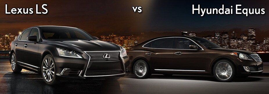 Earnhardt Hyundai Scottsdale >> Hyundai Equus vs Lexus LS | Earnhardt Hyundai North Scottsdale