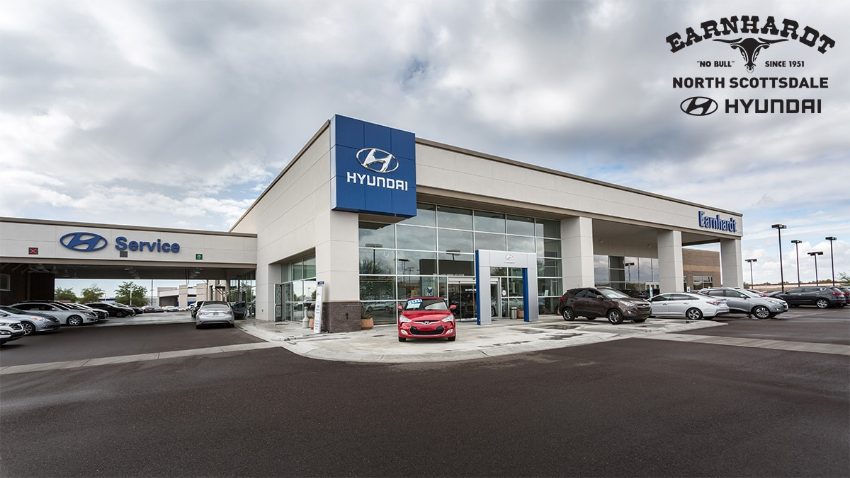 Welome to Earnhardt Hyundai North Scottsdale